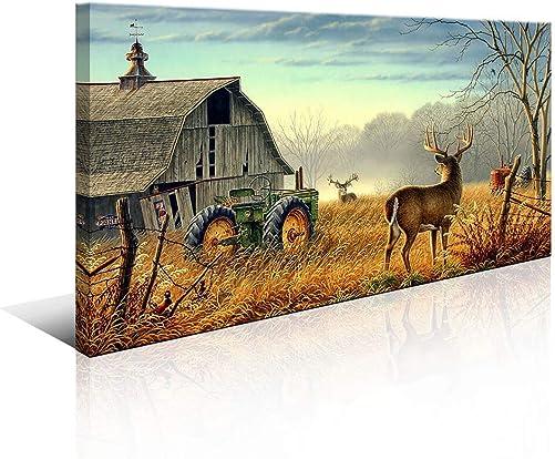 Large Deer Wall Art