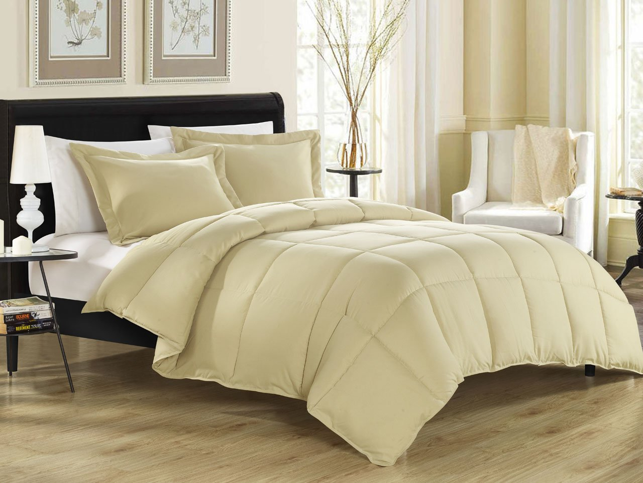 KingLinen® Khaki Down Alternative Comforter Set King