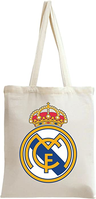 Real Madrid Tote Bag: : Chaussures et Sacs