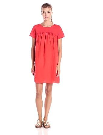 Lucky Brand Women's Embroiderd Dress, Grenadine, X-Small