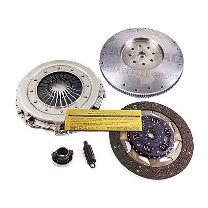 Amazon.com: CLUTCH KIT+FLYWHEEL for 01-05 DODGE RAM 2500 3500 5.9L 6CYL TURBO DIESEL 6 SPEED: Automotive