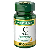 Vitamin C by Nature's Bounty, Immune Support, Vitamin C 500mg, 100 Capsules