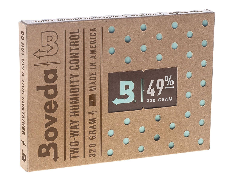 Boveda 49%RH(320グラム) - 2方向湿度コントロールパック   B01N34N7W1