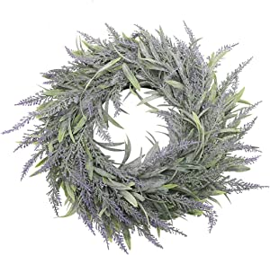 Plastic Wreath Artificial Door Hanging Wall Window Flower Green Leaf Wreath Home Wedding Party Decor Photo Prop 32cm in Diameter