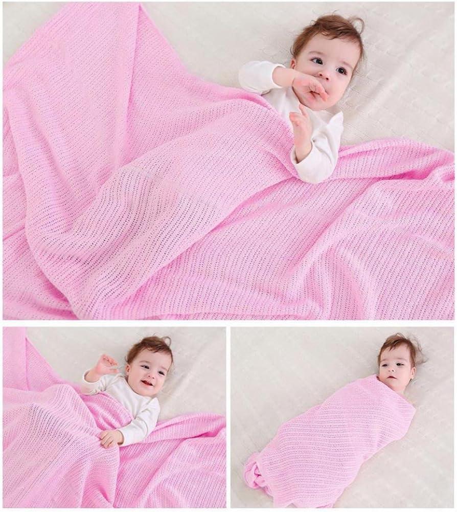 Micro Fleece Baby Blankets Pram Crib Moses Basket Boy Girl Unisex 0 Months