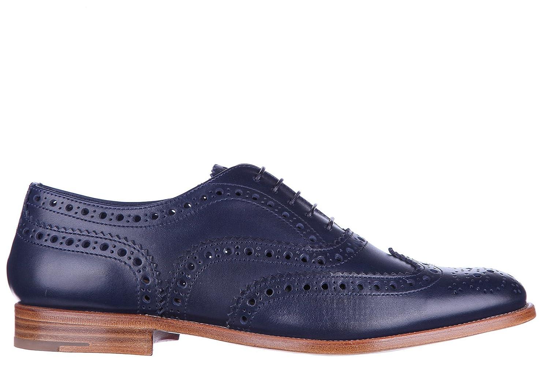 Church Chaussures S Classiques Church s Chaussures Blu à Lacets Classiques Femme en Cuir Burwood Hole Brogue Blu - d756ea0 - boatplans.space