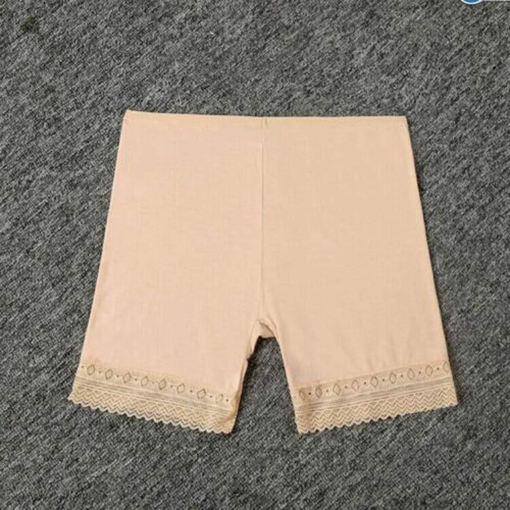 Les Femmes /éLastiques De S/éCurit/é en Dentelle Douce sous Les Shorts Pantalons Leggings Render