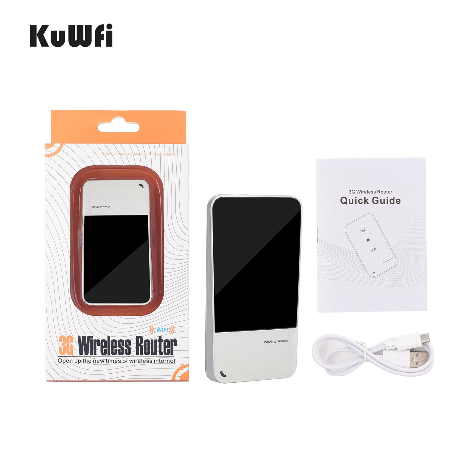 Amazon.com: KuWFi Unlock Portable Hotspot Mobile WIFI router ...