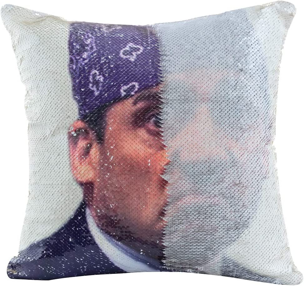 Prison Mike Flip Sequin Pillow Cover