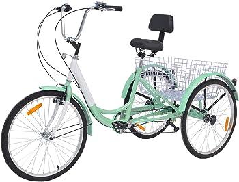 Slsy Adult Three Wheel Recumbent Bike
