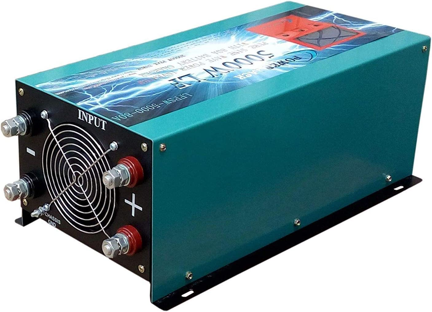 Inverter Pure Wave 5000w Onda Pura del Seno DC 24V to AC 230V+LCD+Cargador Inversor Onda Pura