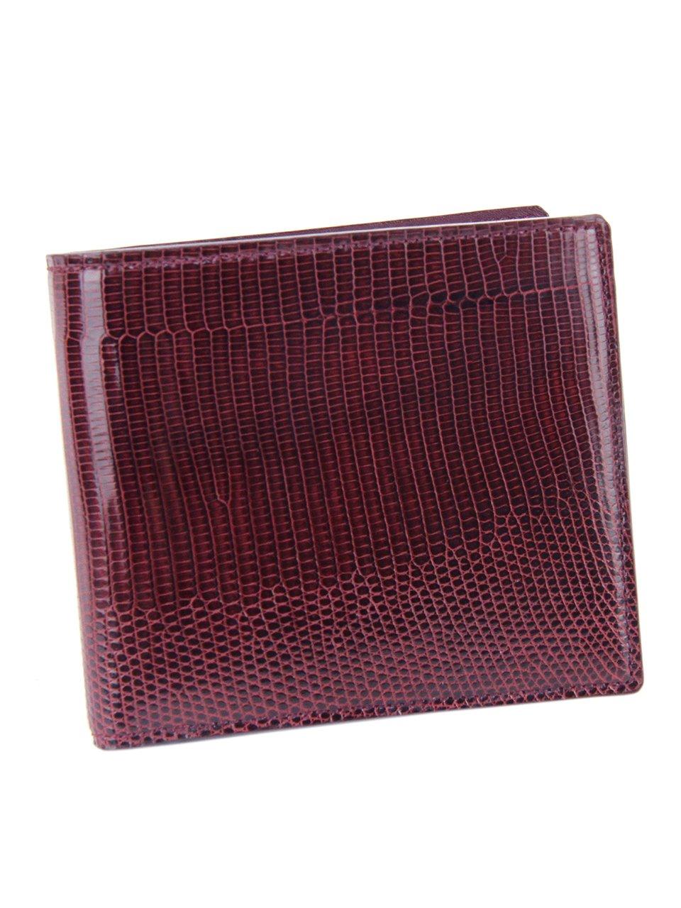 ペッレモルビダ 二つ折り財布 本革 バルカ リザードレザー メンズ LI004 B01N0AT9J9 ワイン ワイン