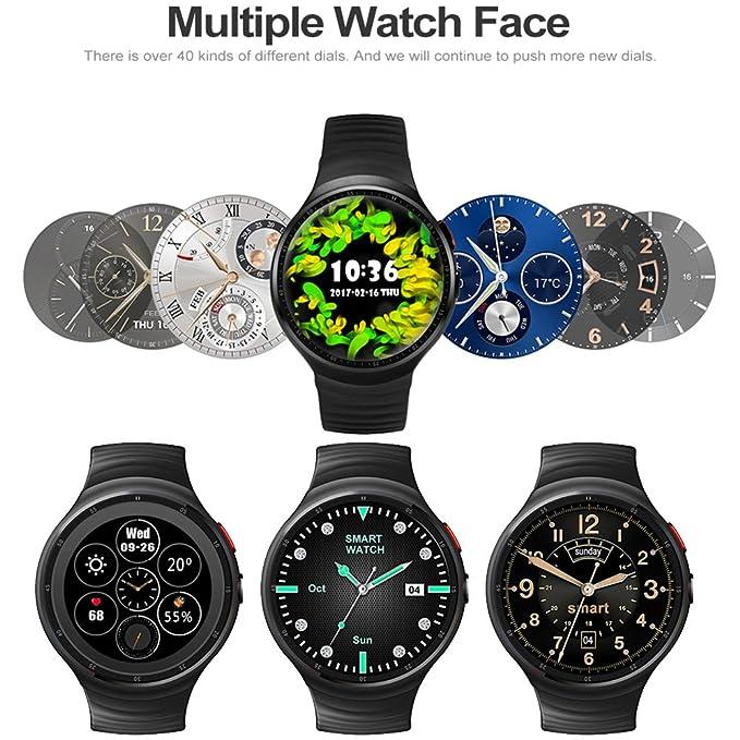 Amazon.com: LEMFO - Reloj inteligente LES1 con sistema ...