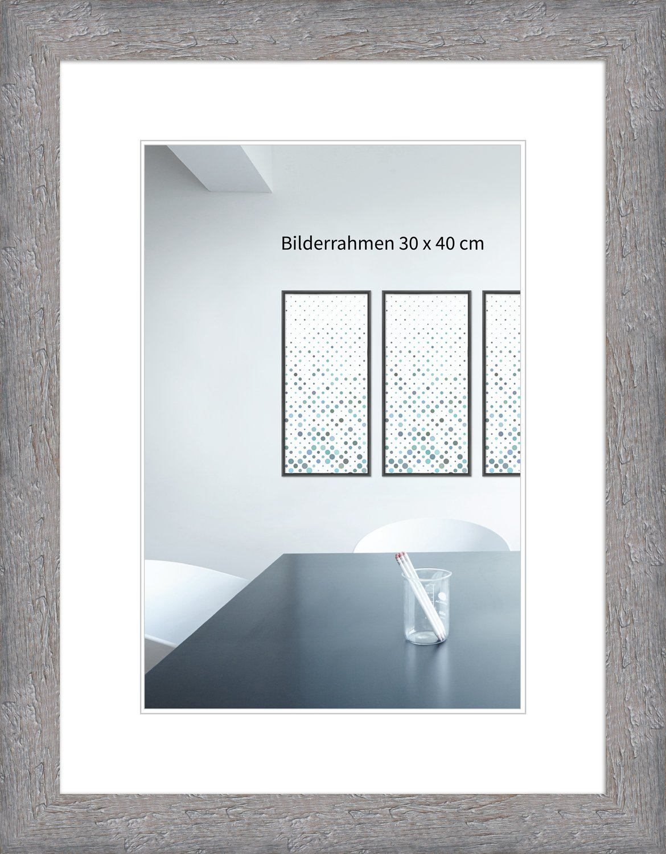 WandStyle Bilderrahmen H750 Strandhaus, rustikal aus Massivholz mit ...