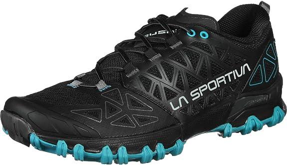 La Sportiva Bushido 2 - Zapatillas de carreras fuera de pista – SS20, Hombre, Black Tropic Blue, 43 EU: Amazon.es: Zapatos y complementos