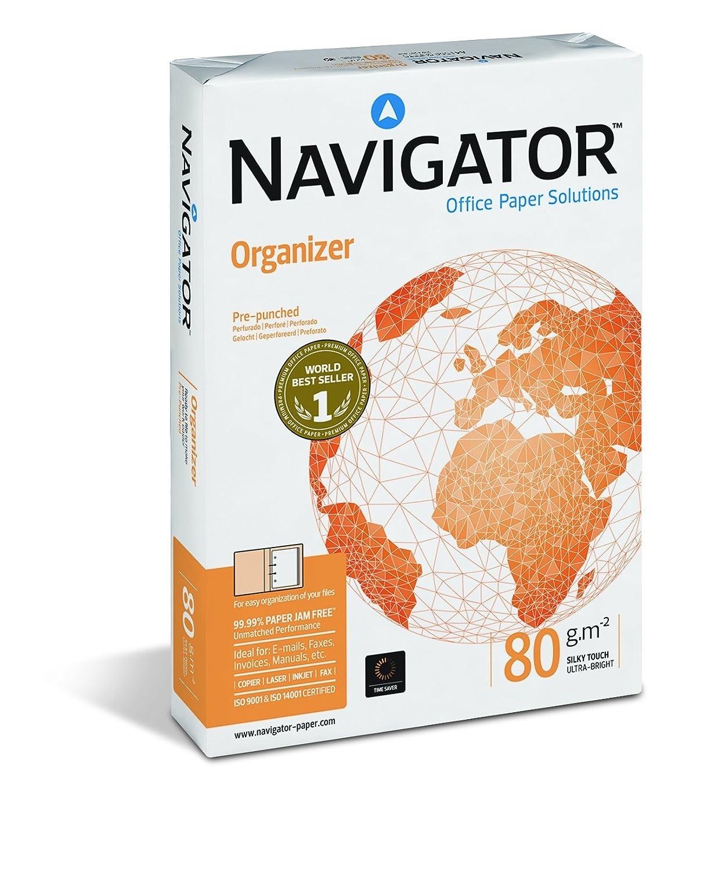 A4, 500 hojas Navigator Organizer Papel para fotocopiadoras