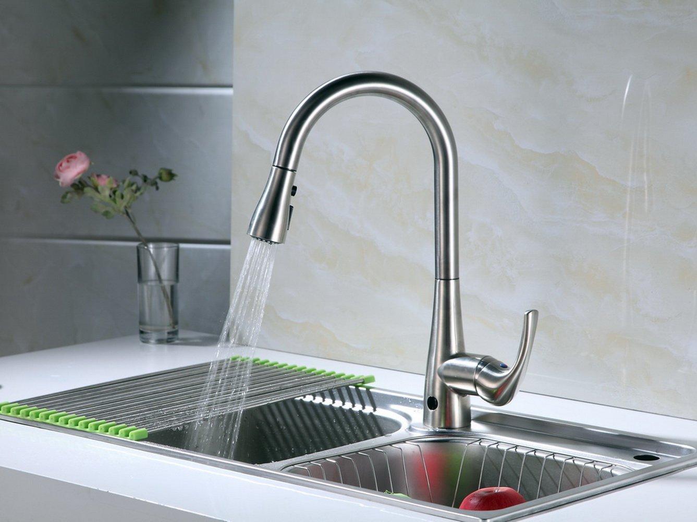 3. RunFine Group Hands-free Kitchen Faucet