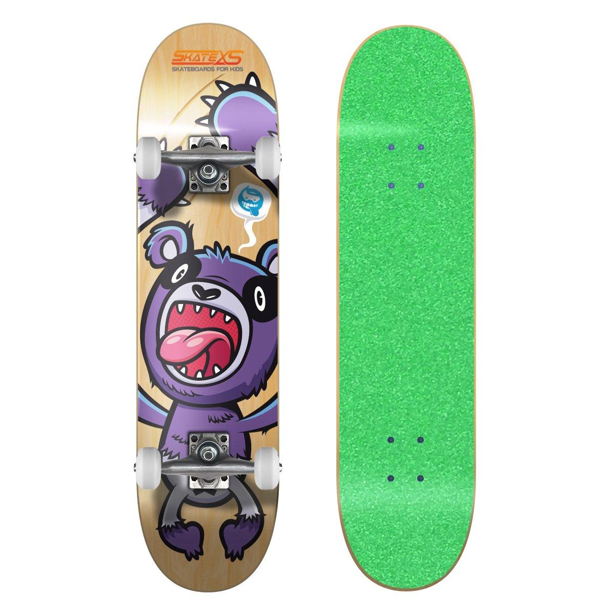 超激安 SkateXS/ 初心者 Wheels パンダ ストリート キッズ スケートボード B00YG1WDKY 7.25 x White 29 (Ages 8-10) Green Grip Tape/ White Wheels Green Grip Tape/ White Wheels 7.25 x 29 (Ages 8-10), ジュエリー工房 Alma:933dab27 --- a0267596.xsph.ru