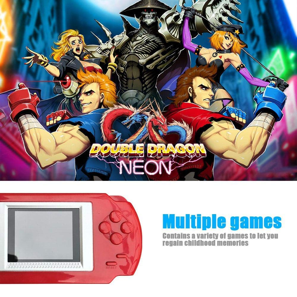CWeep Console Handheld Game Console Gaming Player, 16 bit ...
