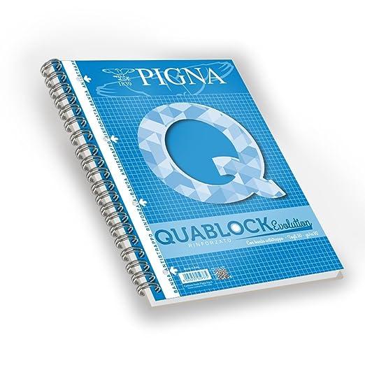 107 opinioni per Pigna Quablock Evolution 5 Quaderni a Quadretti