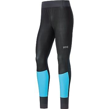 c531f4396deb1 Gore Wear Men's X7 Partial Windstopper Skiing Tights - Black/Dynamic Cyan,  Medium: Amazon.co.uk: Sports & Outdoors