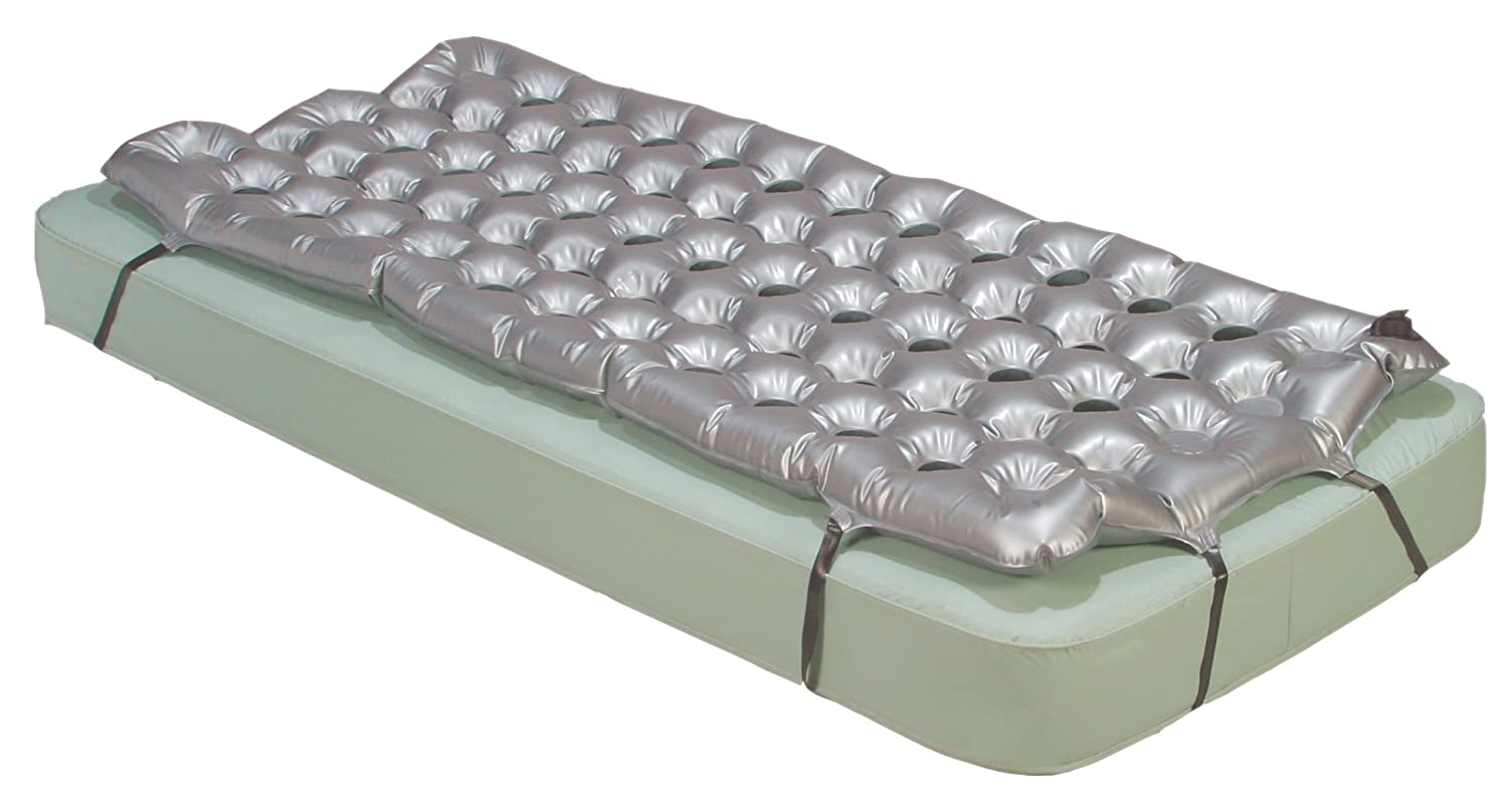 Drive Medical Air Mattress Overlay Support Surface, 72 x 35 x 2.5 14428
