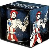 LOGOSHIRT ,Captain Future - Science-Fiction Porzellan Tasse - Kaffeebecher - Lizenziertes Originaldesign