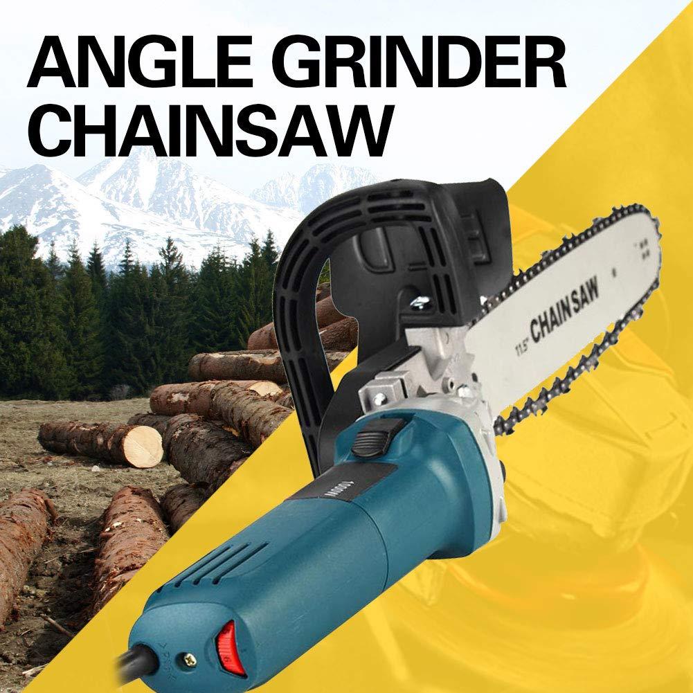 Squadratrice sottostazione grinder sottomarino per uso domestico piccola sega da taglio portatile multifunzione 220V 1000W(Chainsaw Accessories & Angle Ginder)