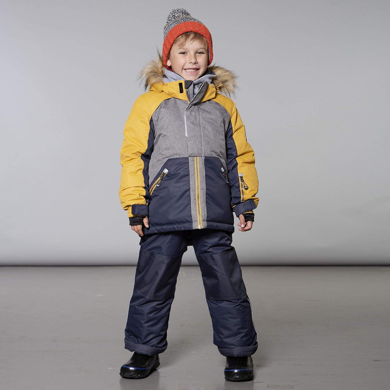 Deux par Deux Two-Piece Snowsuits Boy Kids Ursa Major Black 7 Years