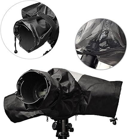 EOS 700D 650D 600D 550D 500D 450D 400D 350D 1100D 1000D 60D 60Da 50D 7D 5D series Nikon D710 include Canon Rebel T5i T4i T3i T3 T2i T1i XS XSi XT XTi SL1 Neewer/® Protettore Pioggia per Fotocamera Copertura Impermeabile per Fotocamera Reflex  Digitale
