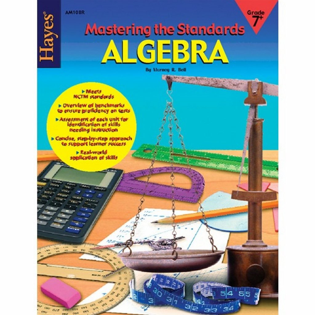 Mastering The Standards: Mathematics Algebra Workbook (Pack of 5)
