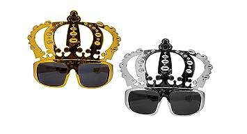 2f82df1f7cbc Majik King Queen Crown Royal Fancy Dress Hat with Google
