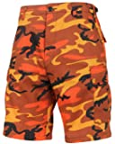 Rothco Colored BDU Shorts, Savage Orange