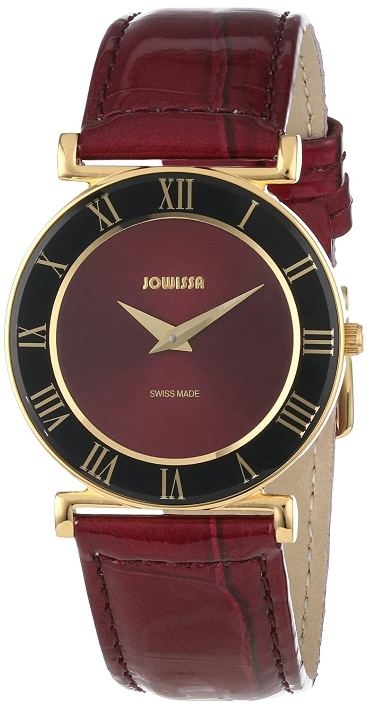 Jowissa Damen-Armbanduhr XS Roma Analog Leder J2.043.M