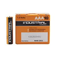 Duracell Industrial AAA | Box of 10 Batteries