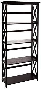 Casual Home Montego 5-shelf Bookshelf