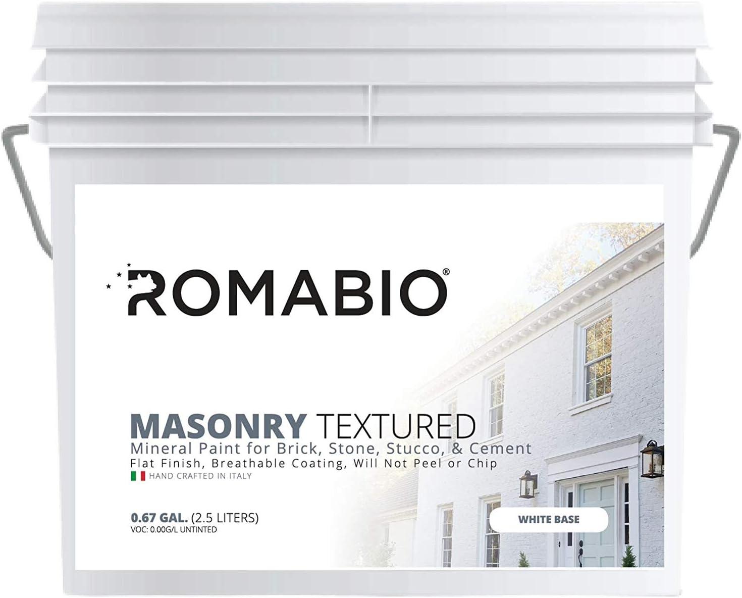 Romabio Masonry Textured Paints
