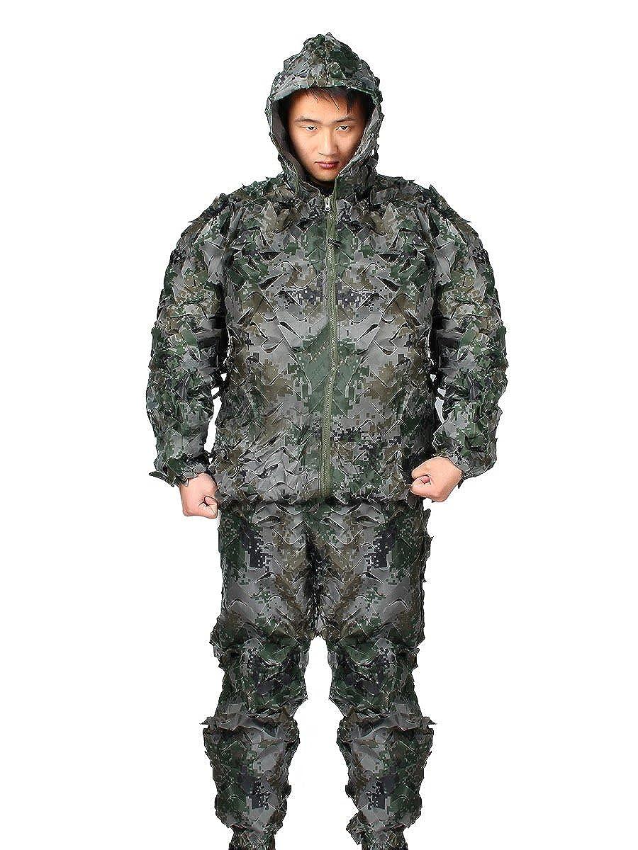 Amazon.com: Evaliana Camouflage Ghillie Suit Woodland Forest ...