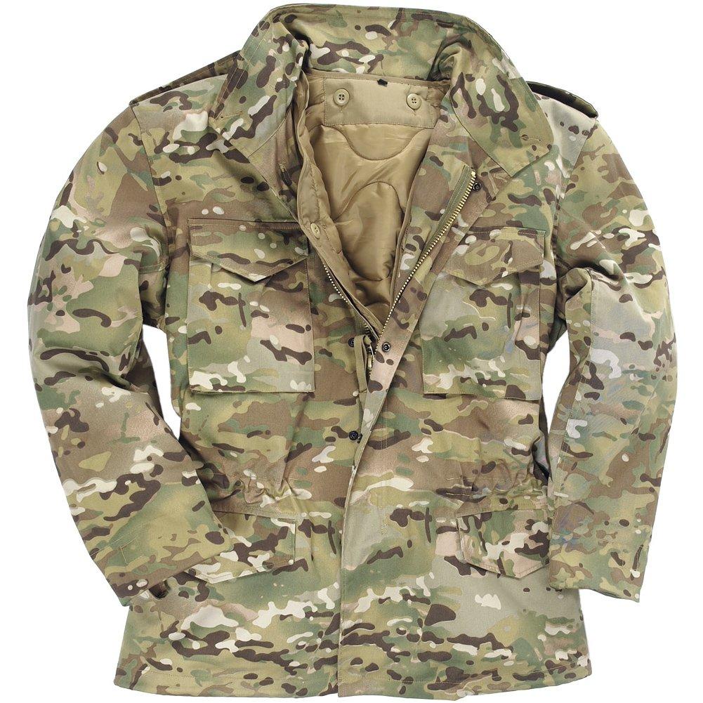 Mil-Tec Men's Classic US M65 Jacket Multitarn size XL