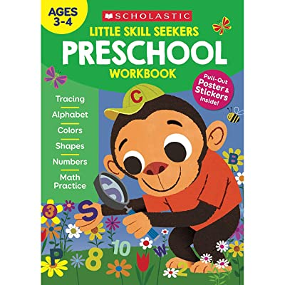 SCHOLASTIC TEACHER RESOURCES Little Skill Seekers: Preschool Workbook: Toys & Games