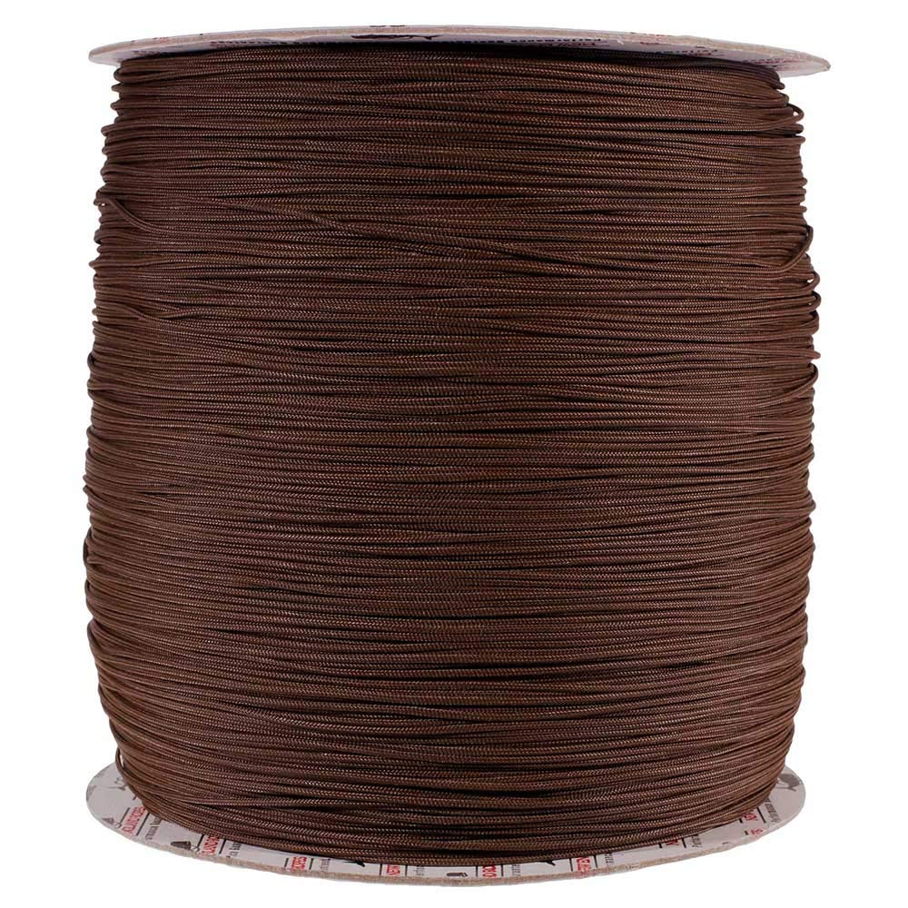 PARACORD PLANET 1.8 MM Dyneema Speed Lace - 10 Feet - Brown Color - Unbreakable and Lightweight Fiber