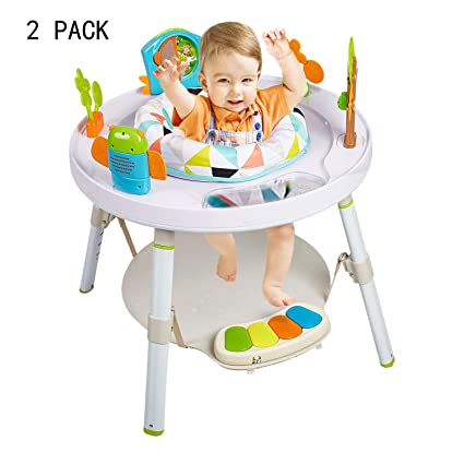 c2798a5741e9 Amazon.com  Dporticus 2 Pack Baby 3-Stage Jump Entertainers Activity ...