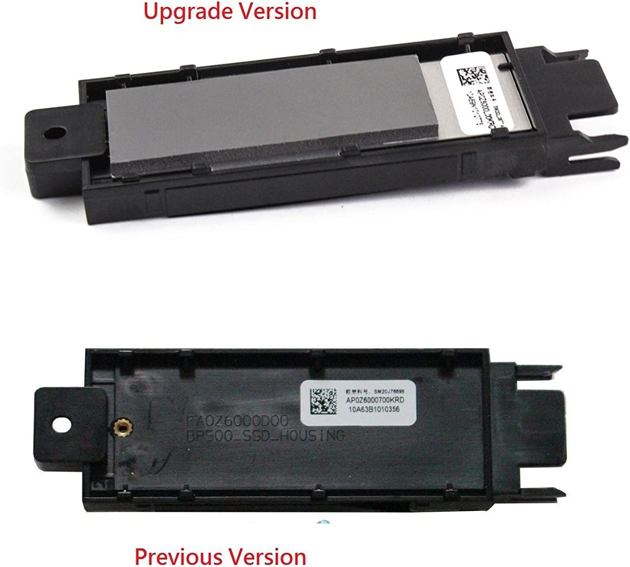 aGoodo Genuine Orginal HDD SSD NGFF M.2 22 x 80 Caddy Tray Internal Drive Bay Adapter for Lenovo ThinkPad P50 P51 P70 Series Laptop AP0Z6000700 (Upgrade Version)