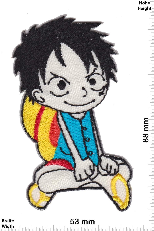 Patch - Monkey D. Ruffy - Manga - One Piece -Cartoon -Manga - Iron on Applique Embroidery Écusson brodé Costume Cadeau- Give