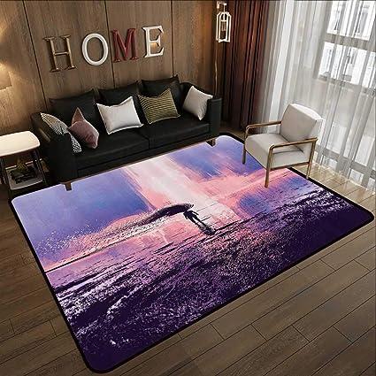 . Amazon com  Rugs for Living Room Fantasy Art House Decor  Trippy