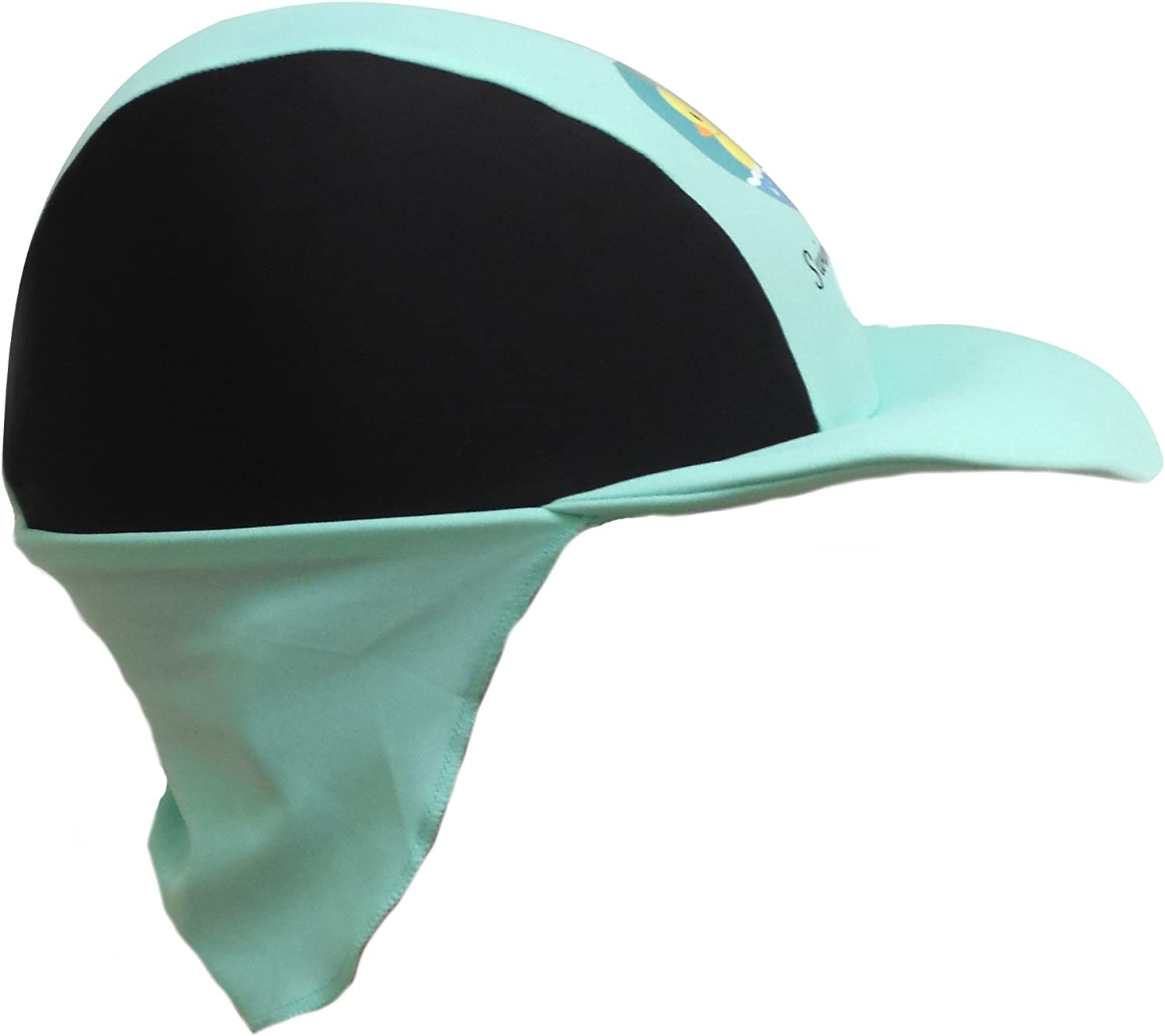 BIB-ON Swim with Me- SPF 50+ Sunhats for Infant Baby Toddler and Kids Age 0-6 Years.