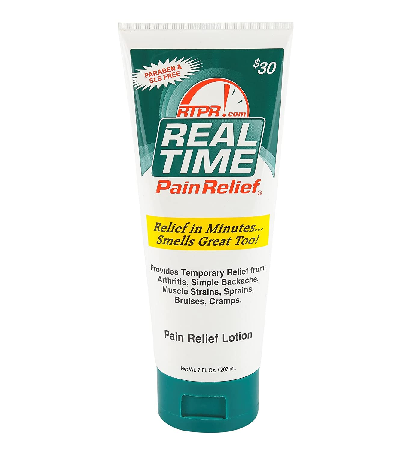 Real Time Pain Relief Pain Relief Cream, 7 Ounce Tube
