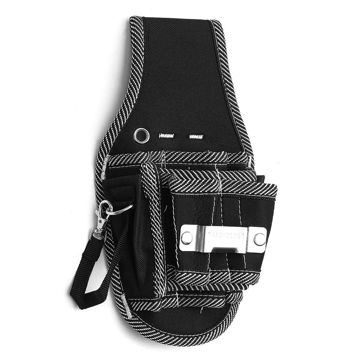 MASUNN Herramienta Multifuncional Bolsa Electrico Impermeable Oxford Herramientas Kit Bolsillos con Cintur/ón De Cintura