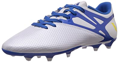low priced 7d47b a748b adidas Messi 15.3 FG AG, Men s Football Boots, Blanco   Azul   Negro