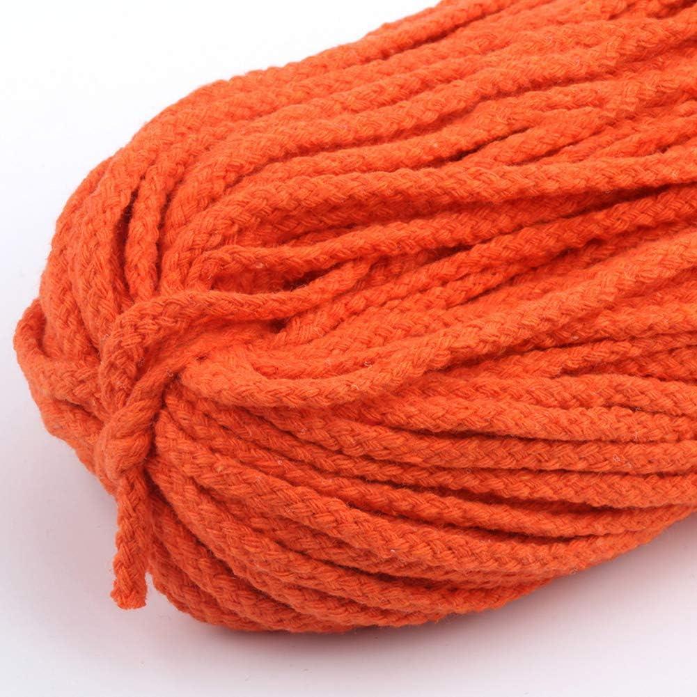 01 Taglia libera corda in macram/è Non null 5 mm Corda da da appendere in macram/è in cotone naturale Buyfunny01 100 m